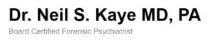 Neil Kaye, MD, DFAPA